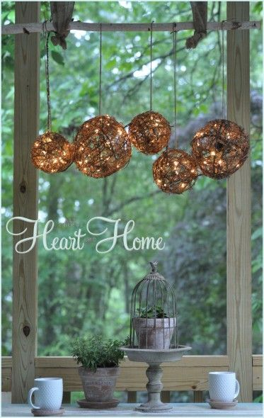 How to make a sparkling lighted diy grapevine chandelier head to the next page for details about this project aloadofball Gallery