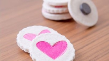 valentine heart magnets tutorial