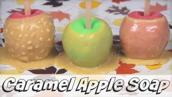 DIY Caramel Apple Soap